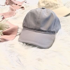Brushed Satin Slouchy Ball Caps